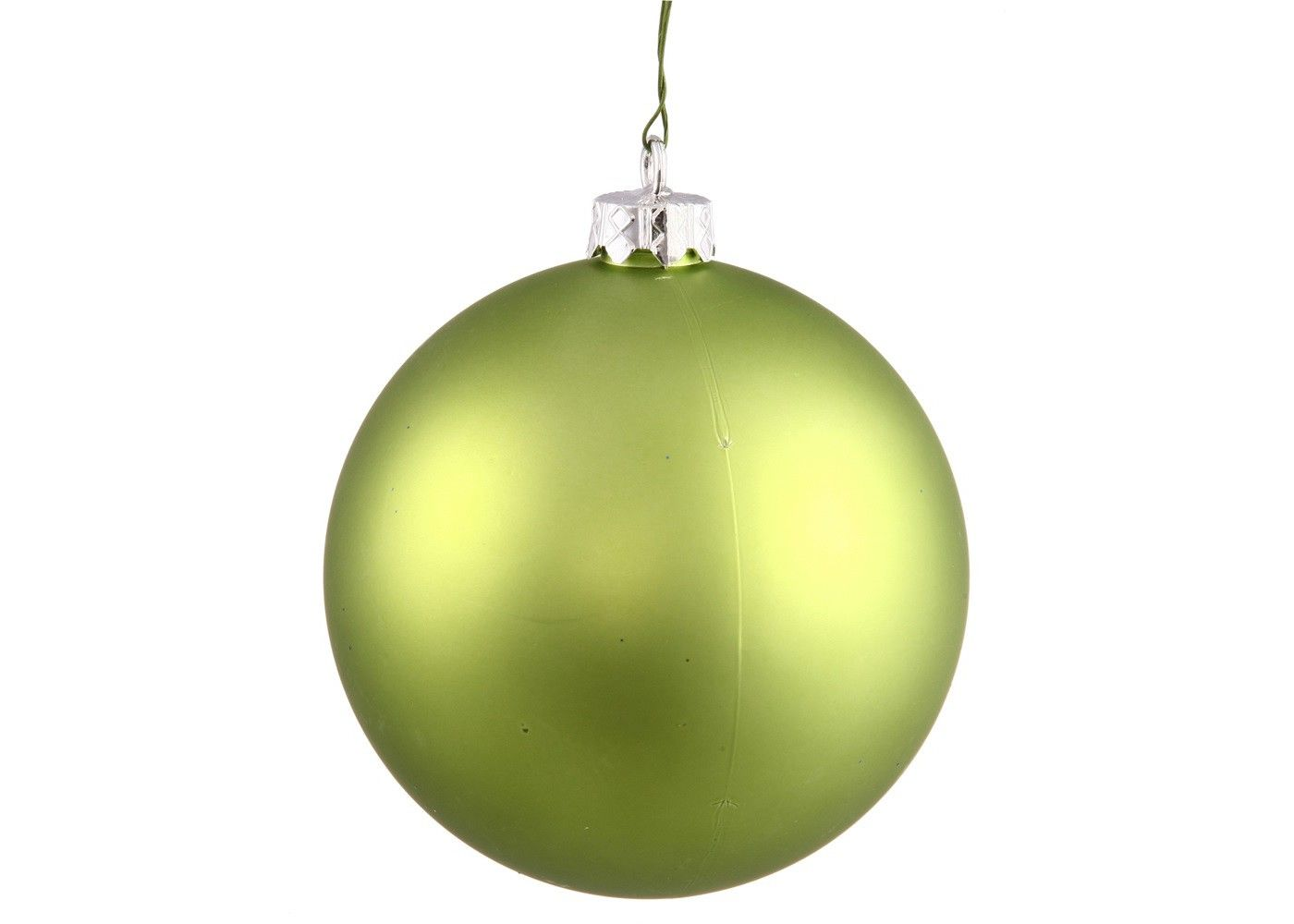Vickerman 2 75 Matte Drilled Shatterproof Christmas Ball Ornament Green Ball Ornaments Christmas Balls The Holiday Aisle