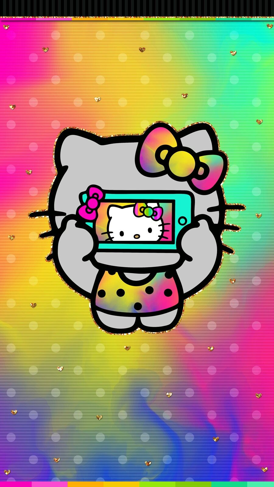 Happy Holi New Wallpaper Hello Kitty Pinterest