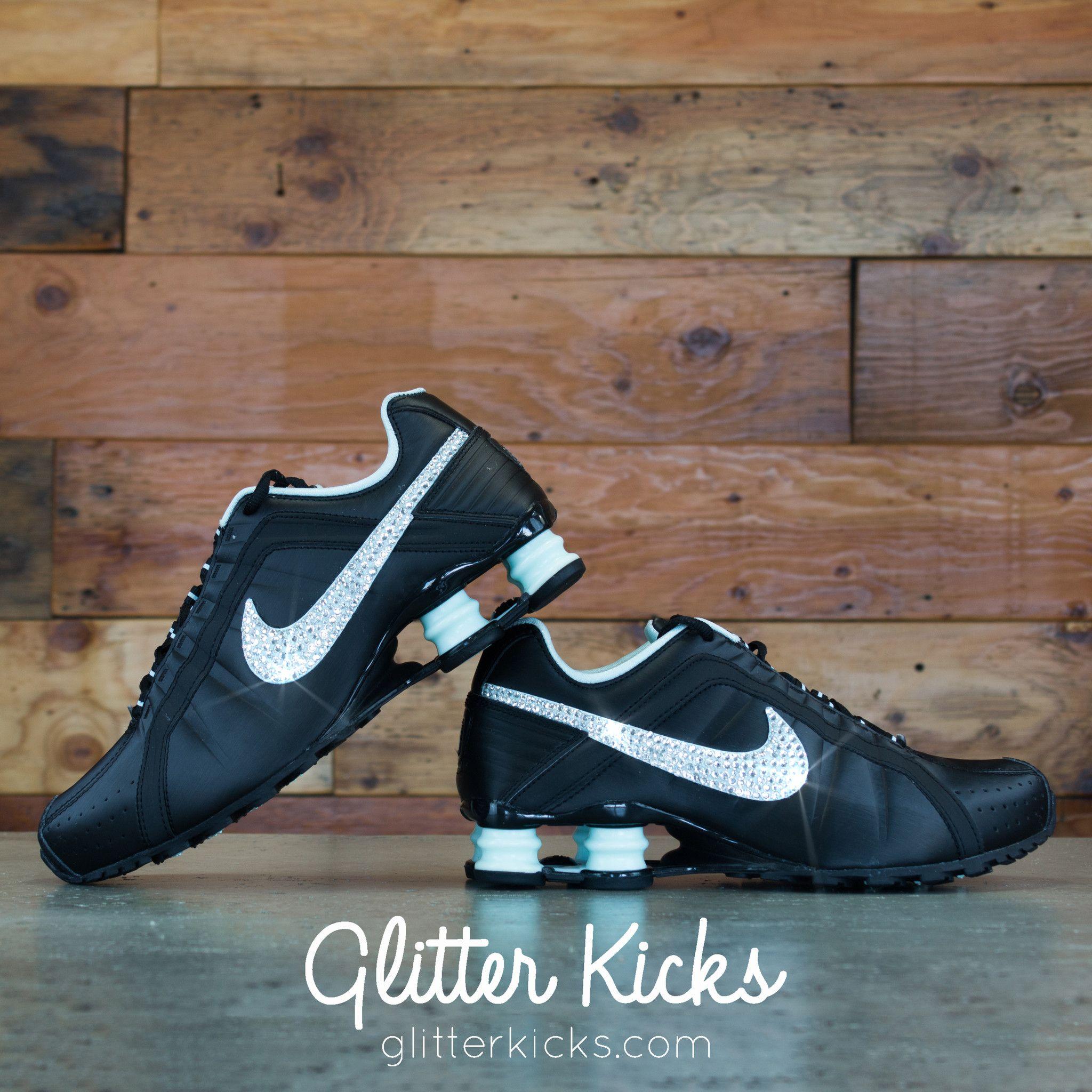 Nike Shox Current Glitter Kicks Running