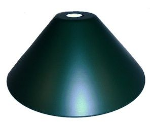 Style 14 Neckless Green Cone Pendant Light Shade