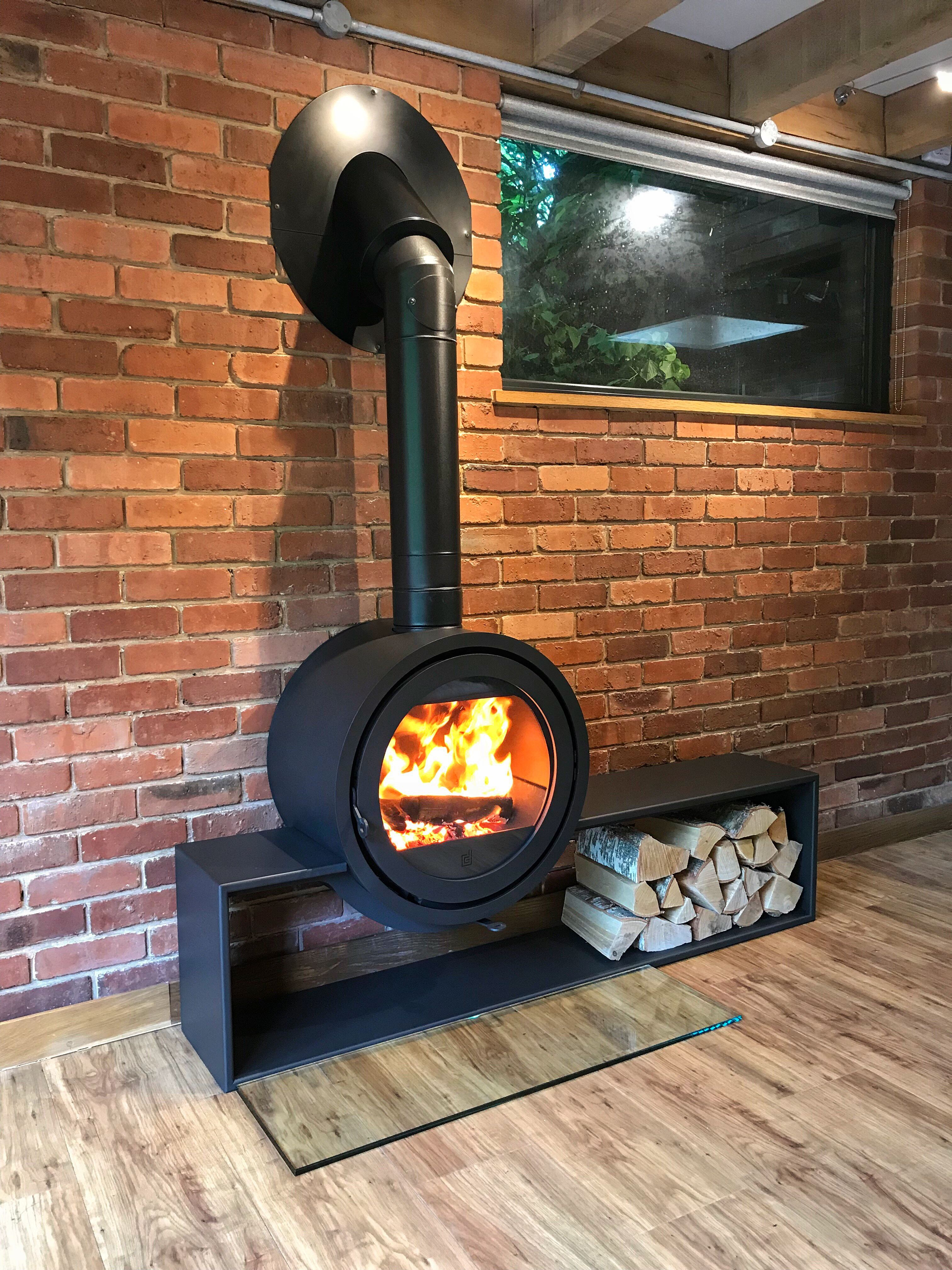 Another Happy Customer The Dik Geurts Odin Range Has Been Designed With Style Efficiency And Ease Of Use In Mind The Distinctive Cir Wood Burning Stove