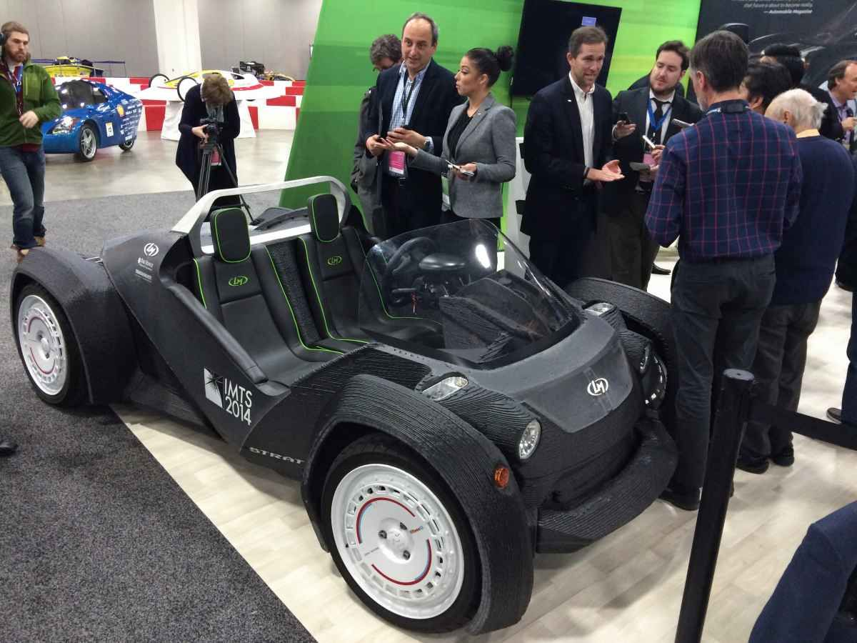 2015 Detroit Auto Show You Might Be Able To Buy 3 D Printed Cars