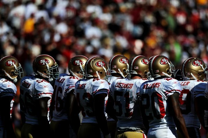 Great Wall of 49ers!