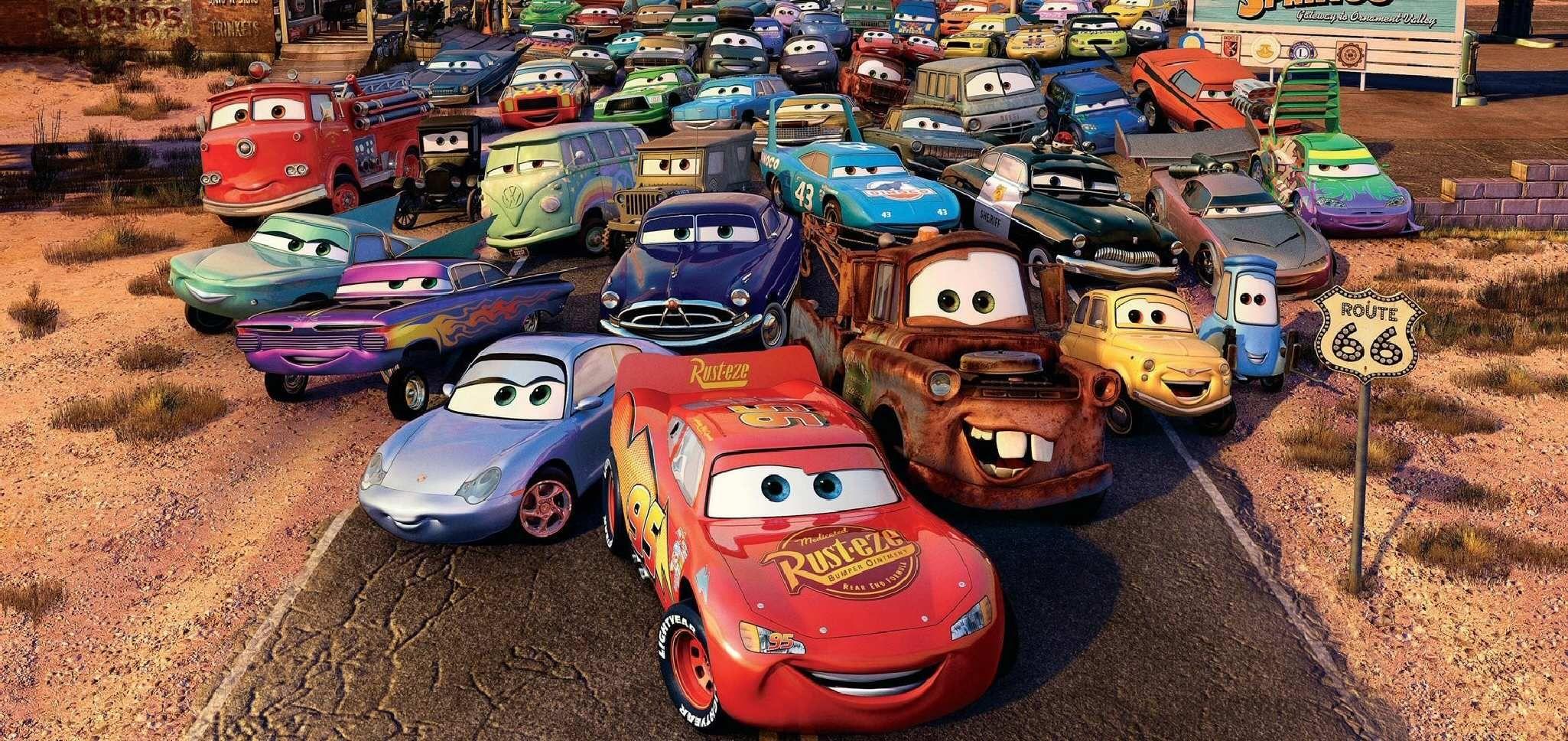 Kids N Fun Com Precious Moments Coloring Pages Cars 2006 Pixar Films Disney Pixar Movies