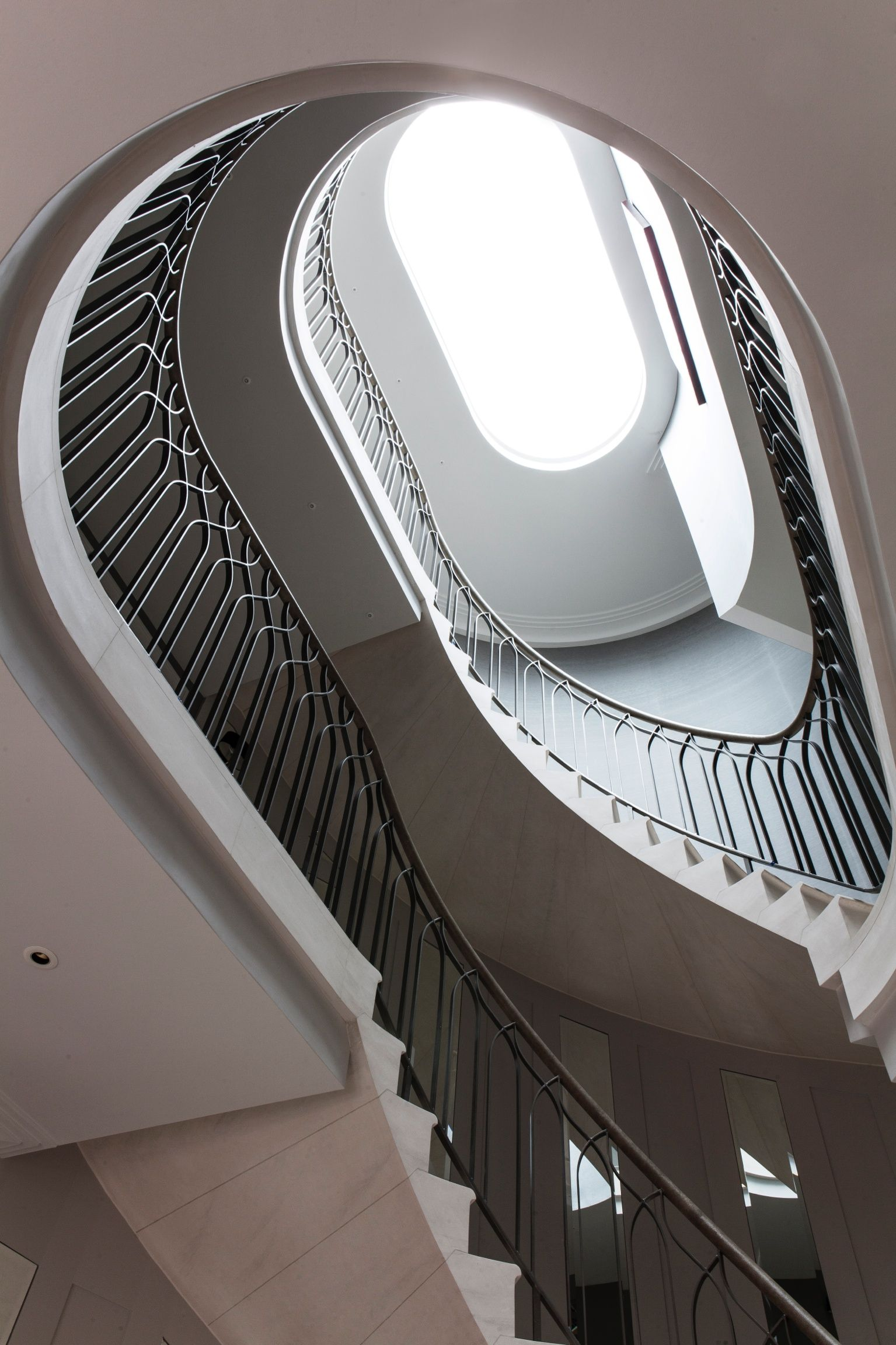 Edward Philips Creative Swirling staircase in beautiful