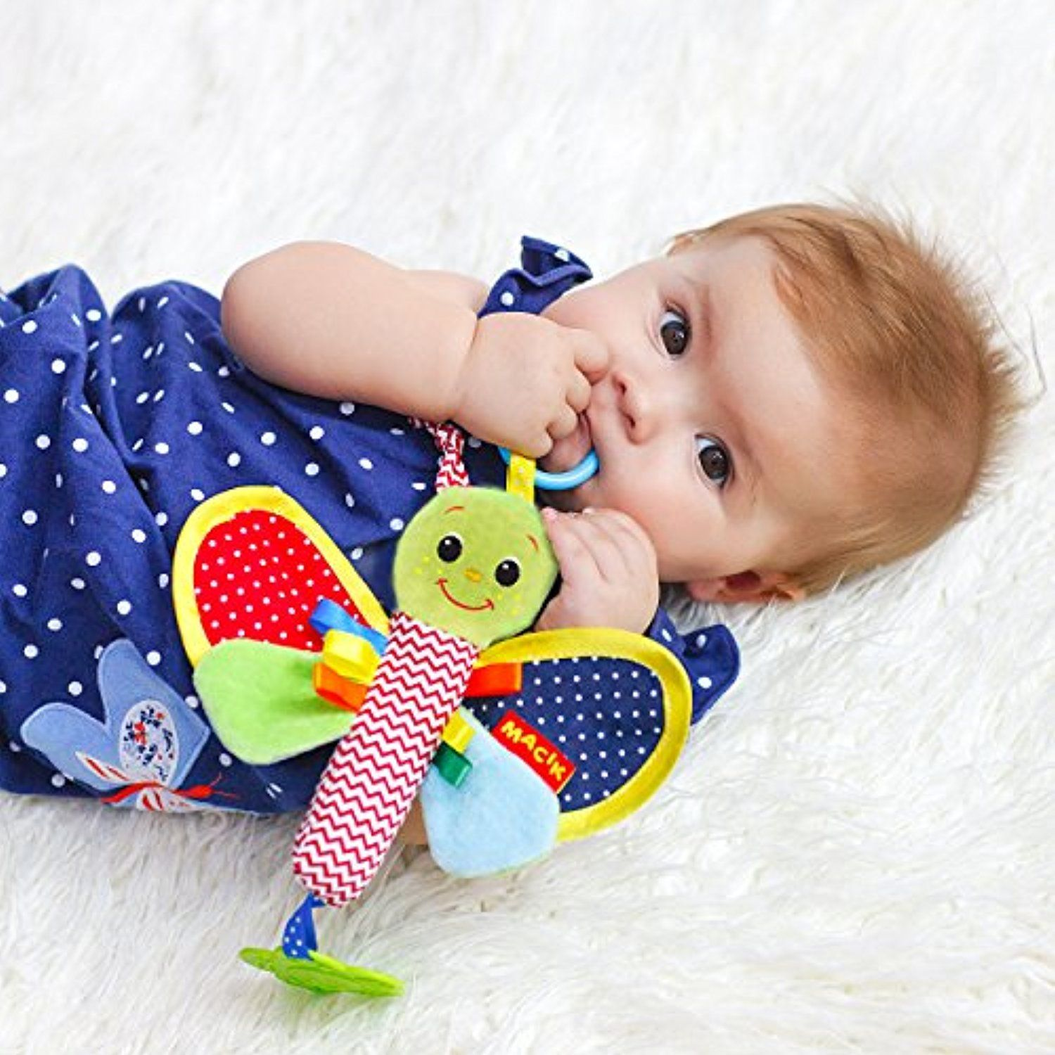 Baby Rattle Butterfly Toy Newborn Baby Toys Newborn Toys Infant