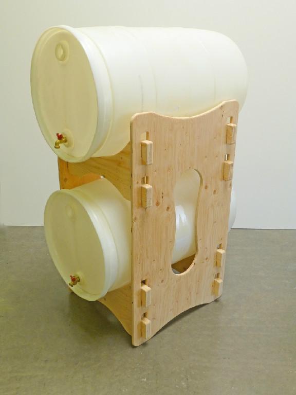 Water Barrel Storage Rack Horizontal For 55 Gallon Barrels Or Drums