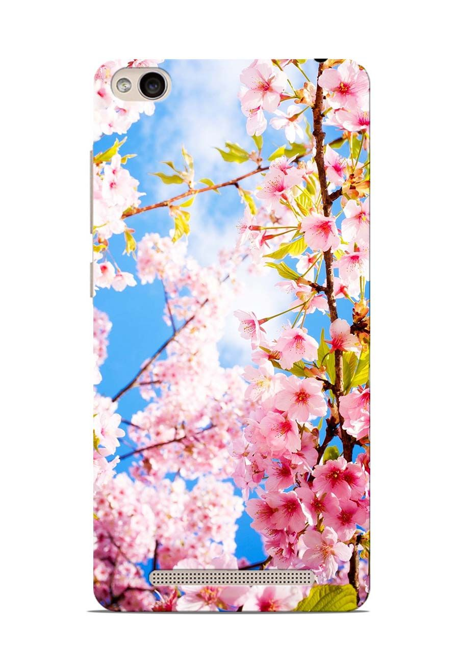 Buy Online Spring Flowers Xiaomi Redmi 3s Back Cover In India