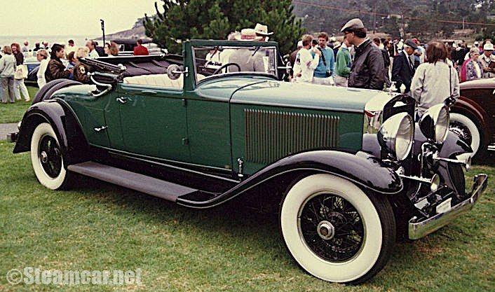 Steam Car 1903 Locomobile Locosurrey No 5 Know As The