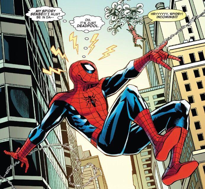 Free Comic Book Day Amazing Spider Man: Spidey Sense In Spider-Man/Deadpool #6
