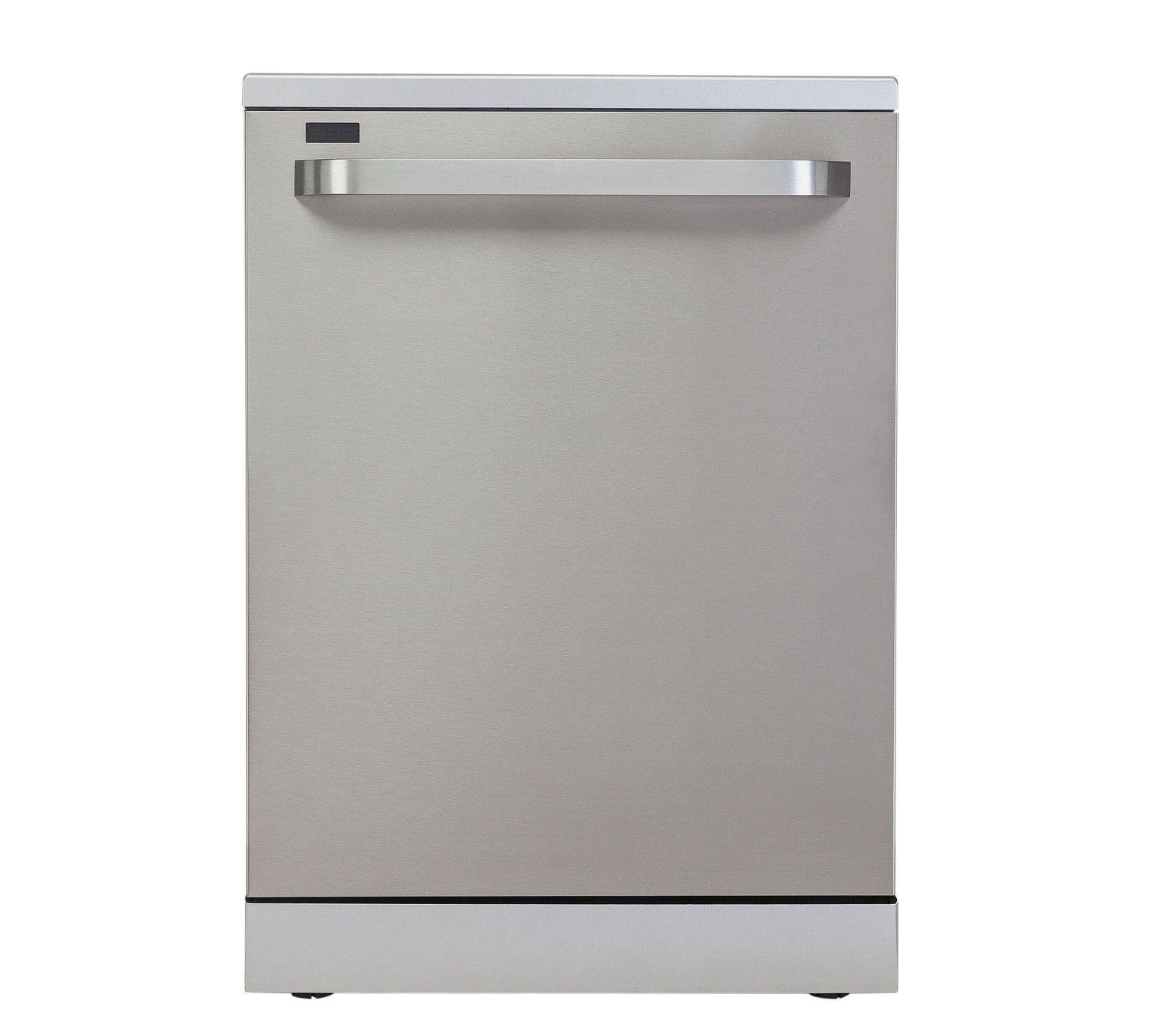 Buy Bush DWFSG146SS Full Size Dishwasher - Stainless Steel at Argos ...
