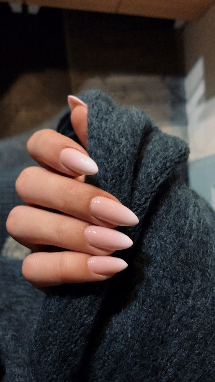 Unghie Naturali Pink Nails Oval Nails Pretty Nails