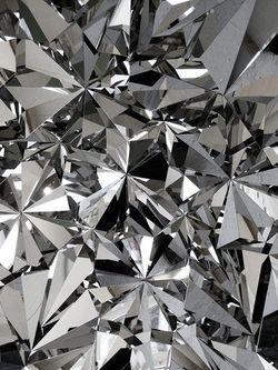 Reflective Folio Mirror Leather Diamond Www My Folio Com Silver Wallpaper Wallpaper Art