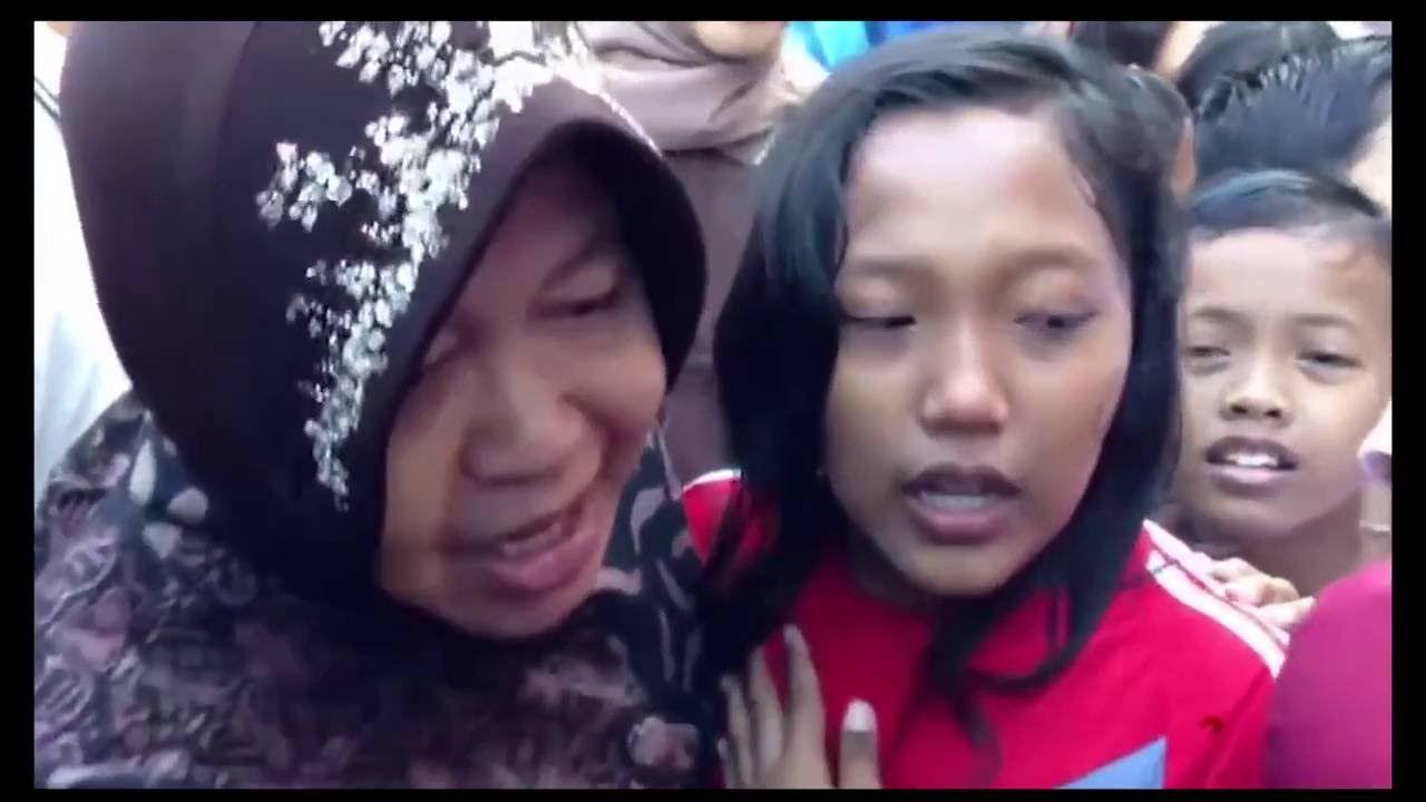 Bukti Dicintai Warganya Bocah SD Ini Melarang Risma Ke Jakarta