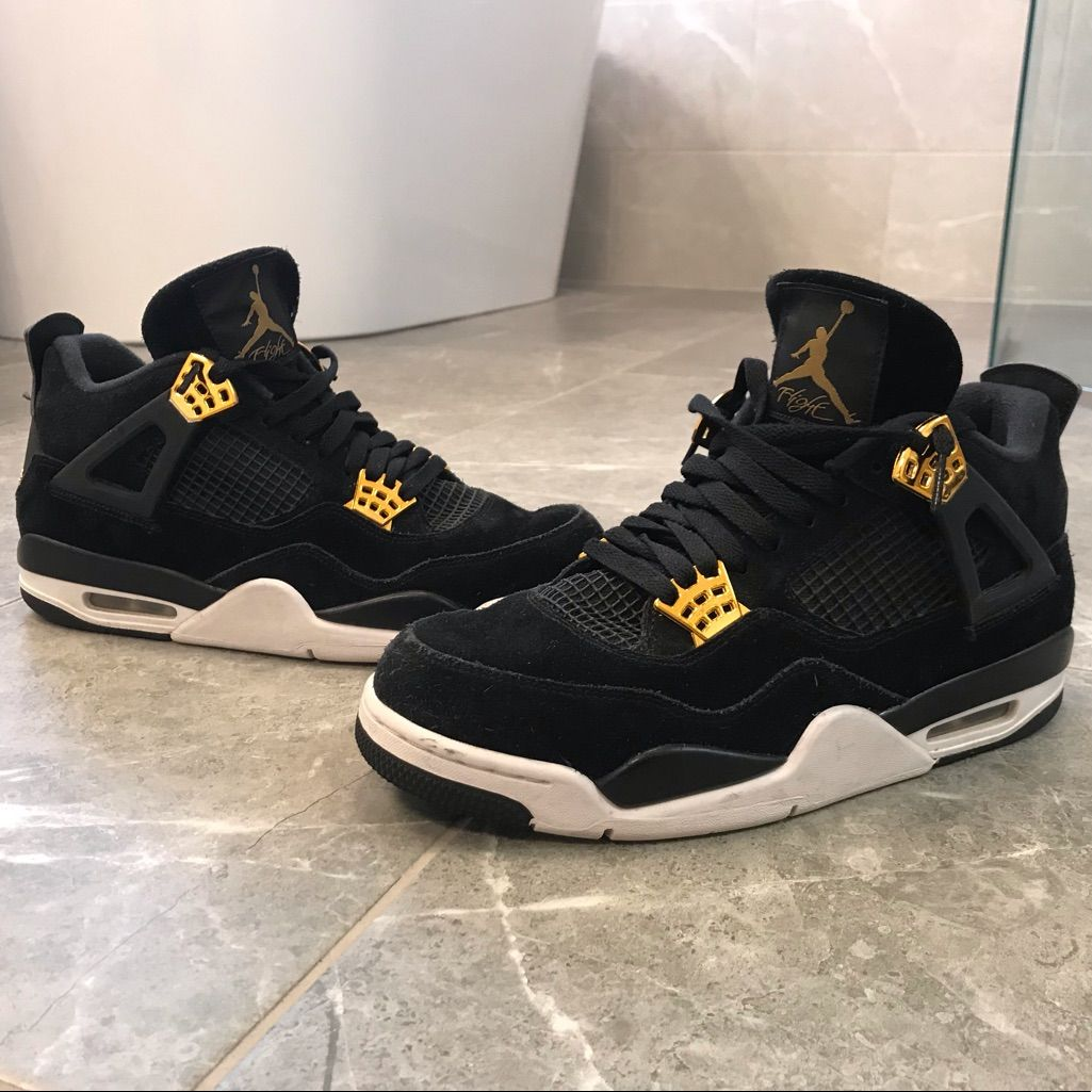 Air Jordan 4 Retro Air Jordans Retro Air Jordans Black And
