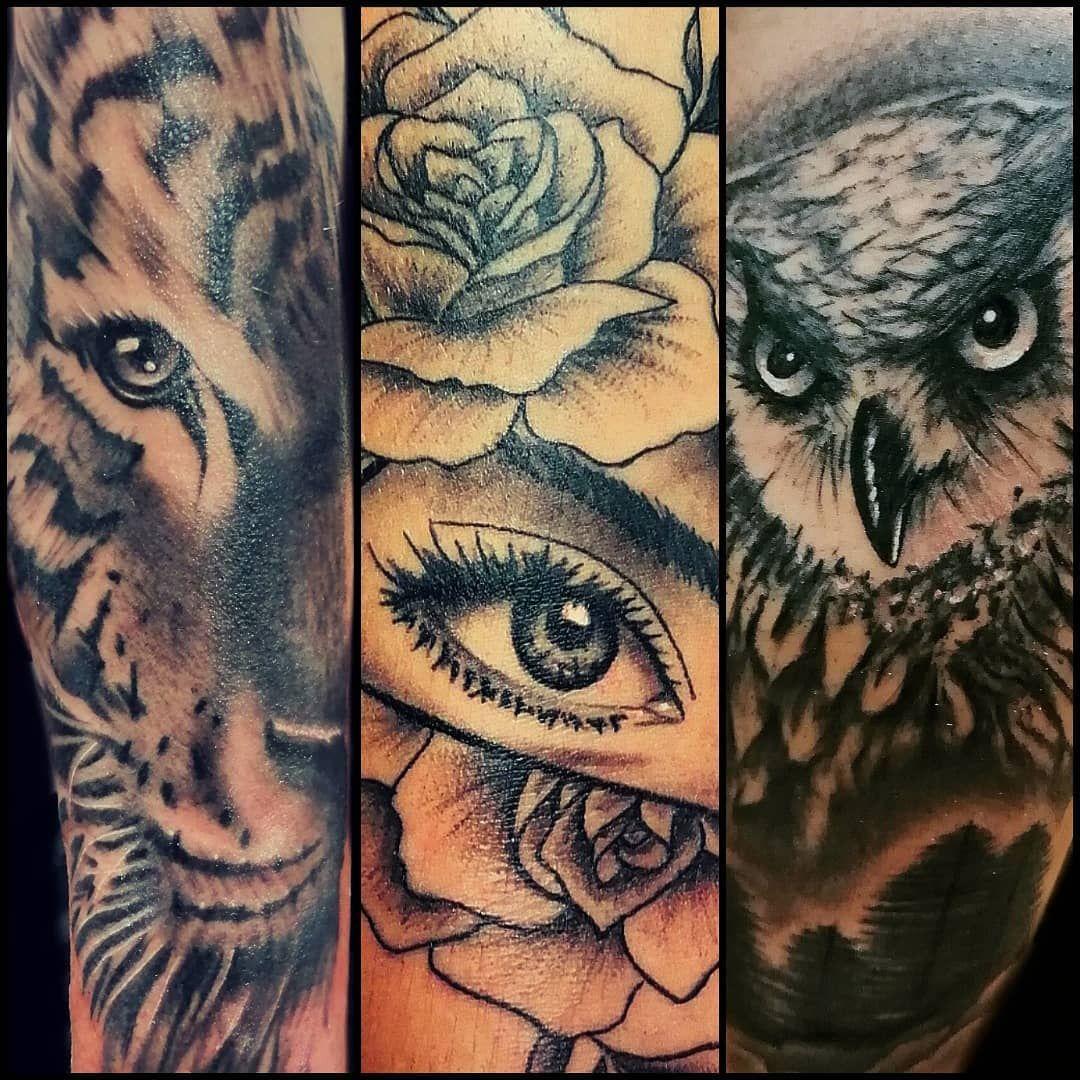 Nueva recopilacion ---Recopilación @juanmorenotattoo #collage #juanmorenotattoo #tattoostyle #recopilacion #tatuajes #tattoogirl #tattoos #ink #fotografia #tattoo #work #trabajos #kwadron #tigretattoo #tiger #tigre #eye #eyetattoo #buho #buhotattoo