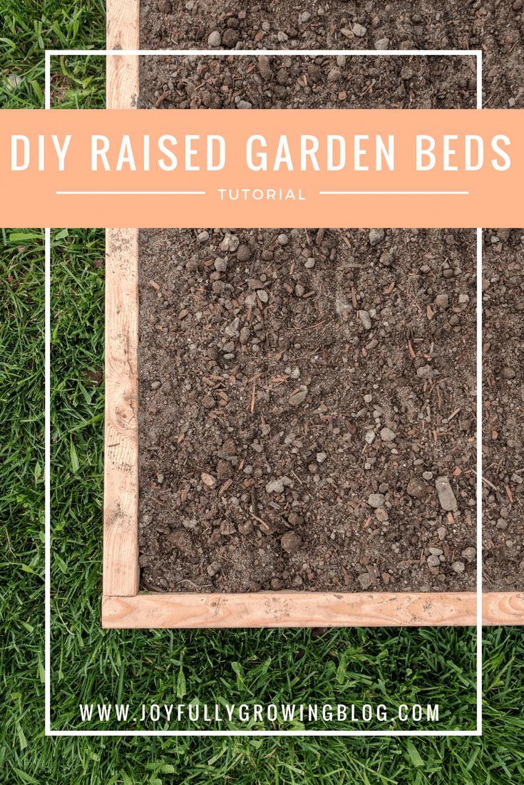 Diy raised garden beds an easy diy that wonut break the bank