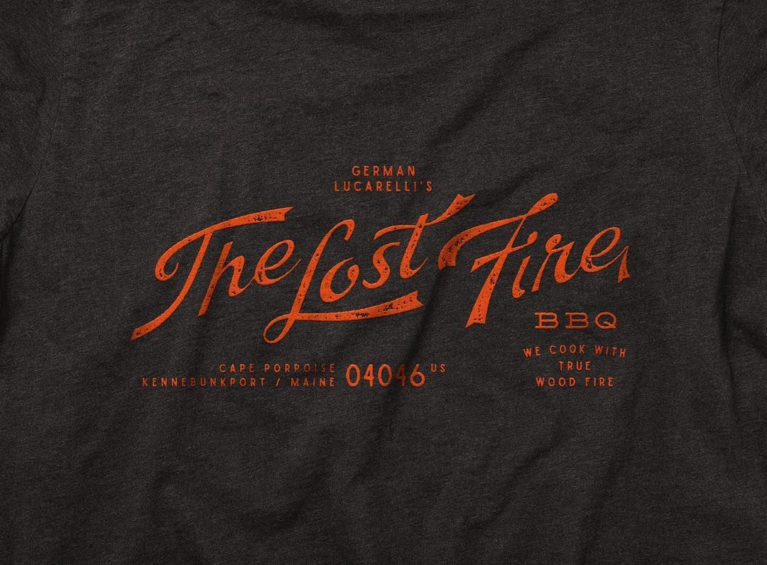 Cucina Italiana Kennebunk Branding For The Upcoming The Lost Fire Bbq By Chef Germán