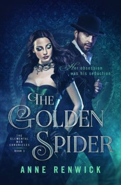http://bit.ly/2iTvXZ6 -        The Golden Spider by Anne Renwick   Lady Amanda is a medical student who has invented a mechanical spider that can re-spin damaged nerves. Lord Thornton, her professor, needs this technology—both in his laboratory and to heal an injury to his leg. When her clockwork spider is stolen and linked to a string of murders, they must work together—all while fighting a forbidden attraction—to catch the spy before it's too late.   $0.99 Previousl