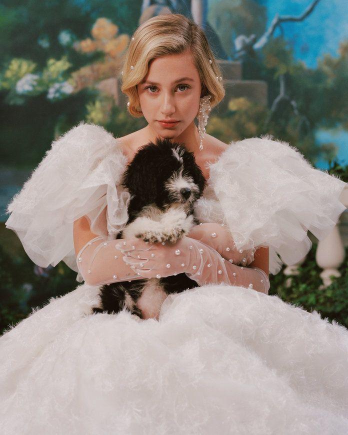 Photo of Lili Reinhart Wears a Wedding Dress and Mad Men Costars Reunite in Rodarte's Spring Lookbook