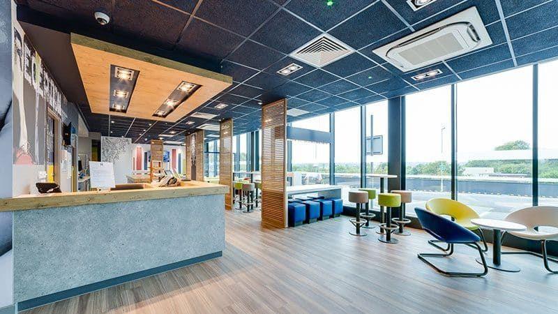 Ibis Budget Luton Airport Design Interior Design Projects Luton