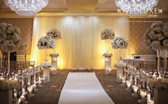 Ivory And Champagne Wedding Centerpieces 2017 Indoor Decorations