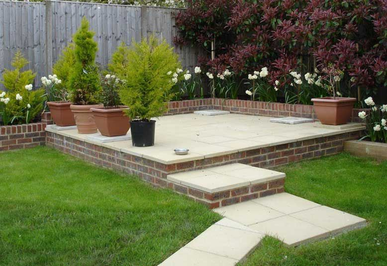 Raised Patio Ideas   Google Search