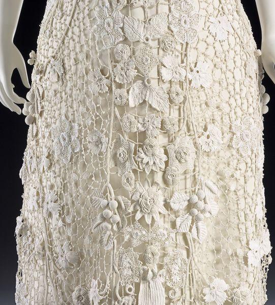 Irish Lace Wedding Dress | IRISH CROCHET DRESS - Crochet — Learn How ...