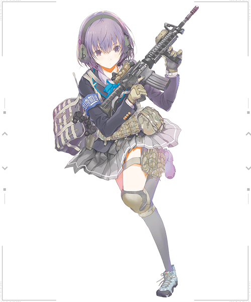 Little Armory OFFICIAL WEBSITE Anime, Concept art