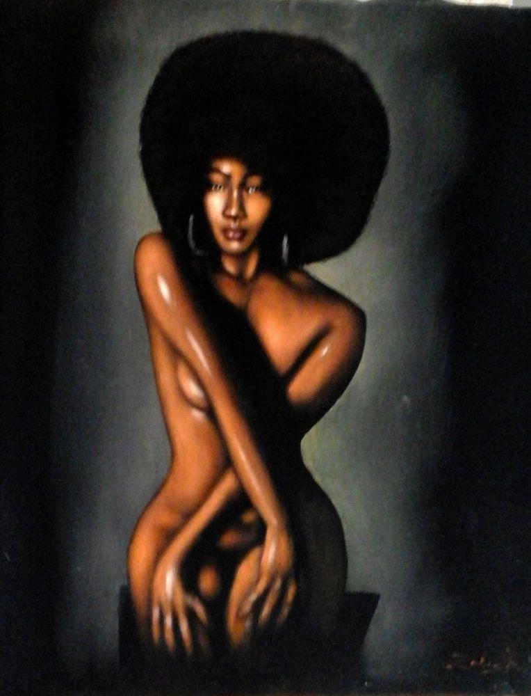 Nude paintings of black african american women — 6