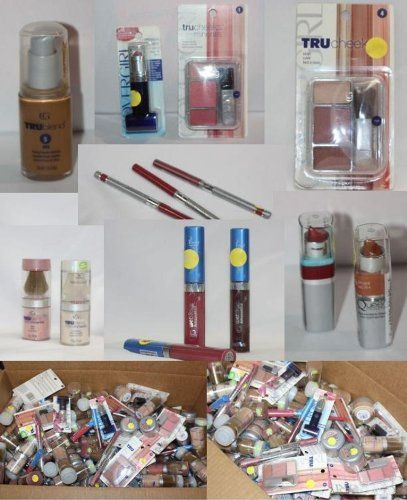 Lot of 50 Covergirl Cosmetics Eyeslipface and Many More Assorted Wholesale ** Click on the image for additional details.