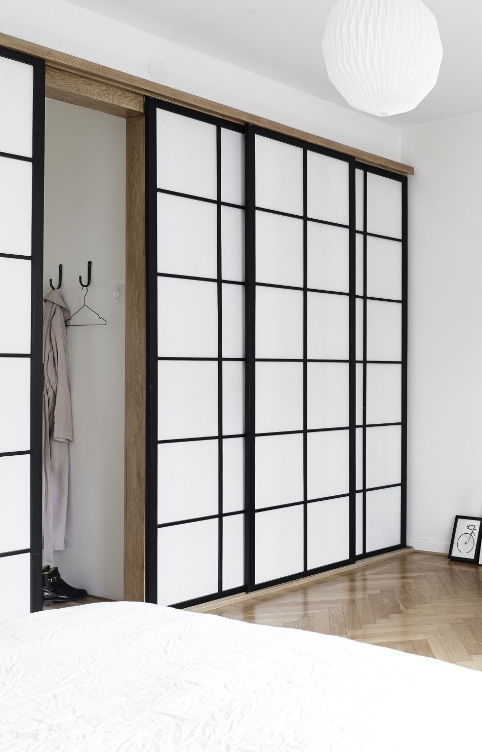 Sliding Door Japanese Style Modern Furniture New Condo Sliding Doors