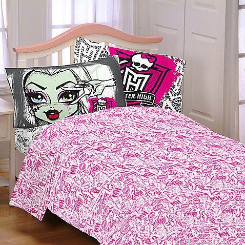 Monster High Europe Buy Mattel Monster High Twin Comforter Set