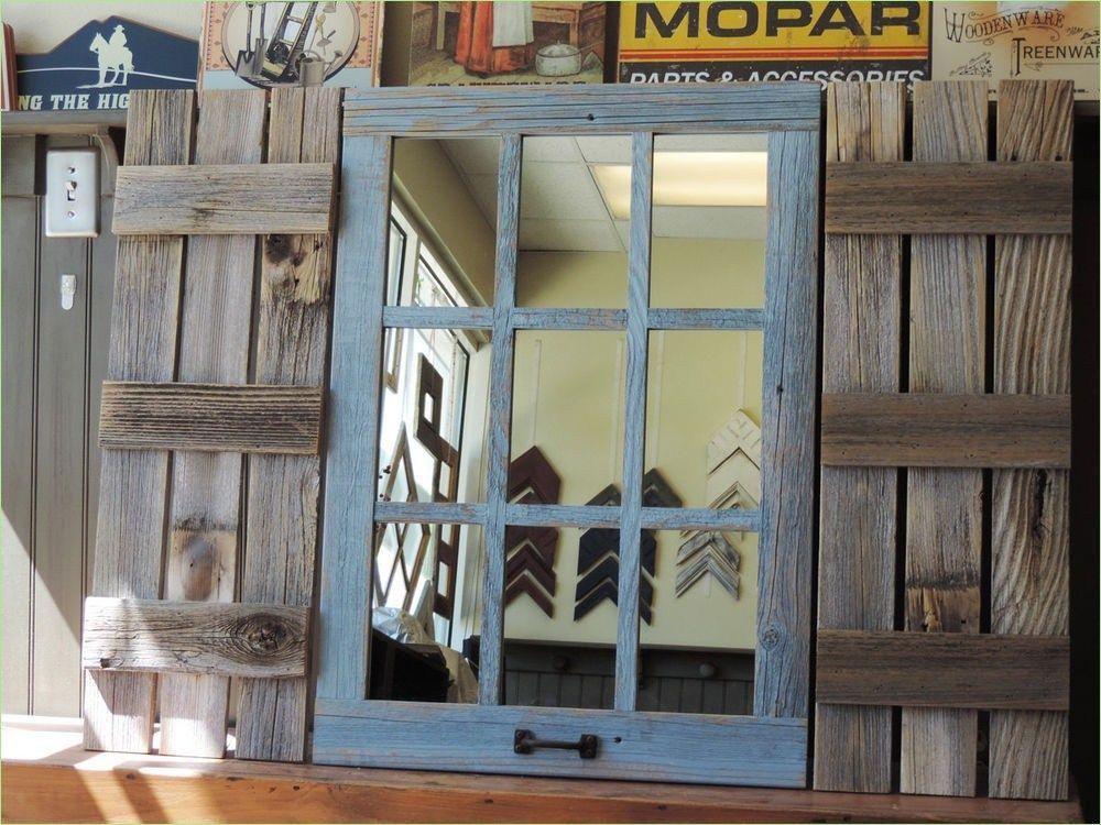 51 Awesome Farmhouse Window Decor Ideas Shutter wall