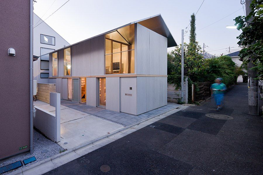 Tour Innovative Japanese Homes Small House Architecture