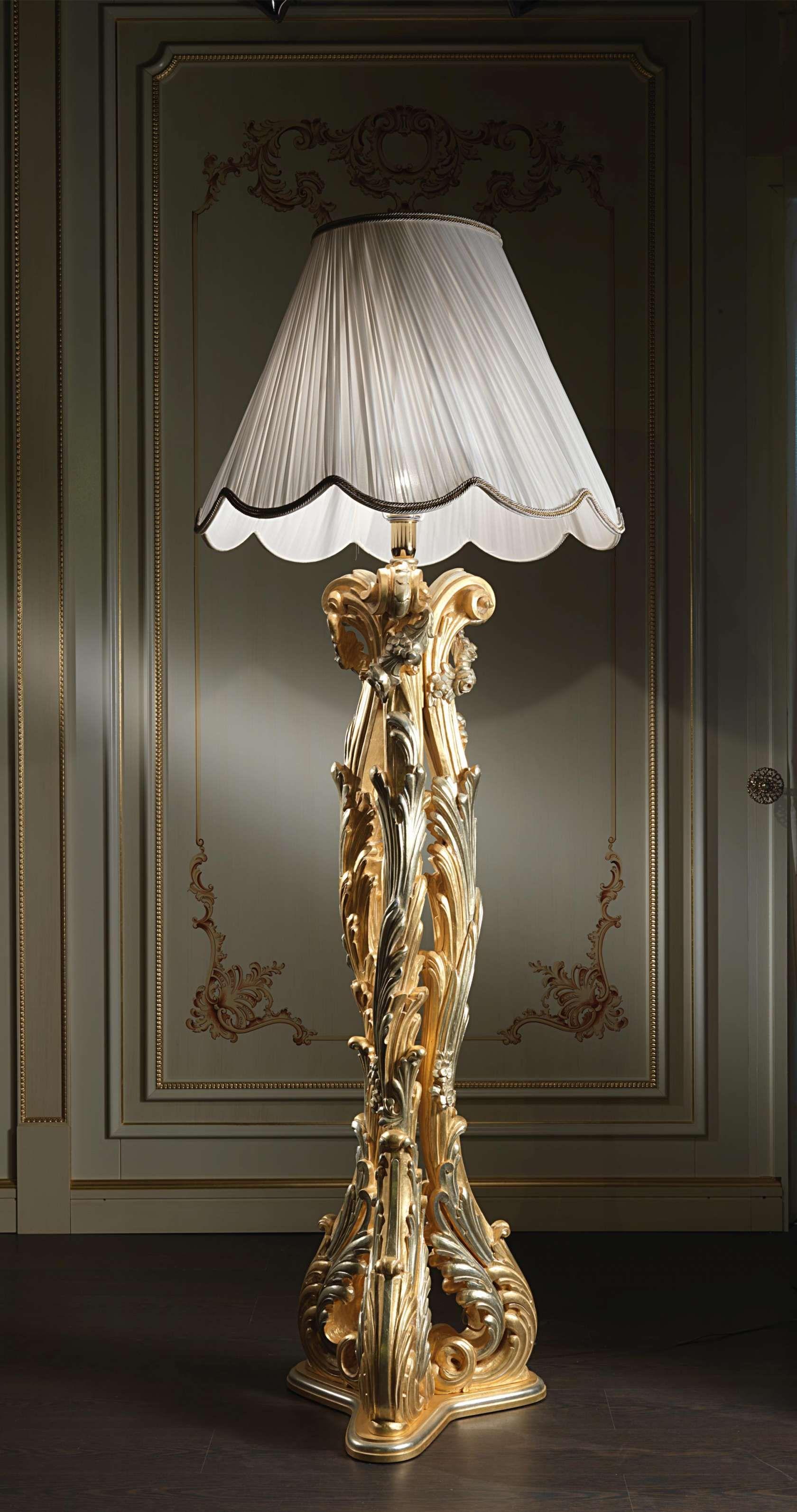 Classic floor lamp in Baroque style   Vimercati Classic Furniture ...