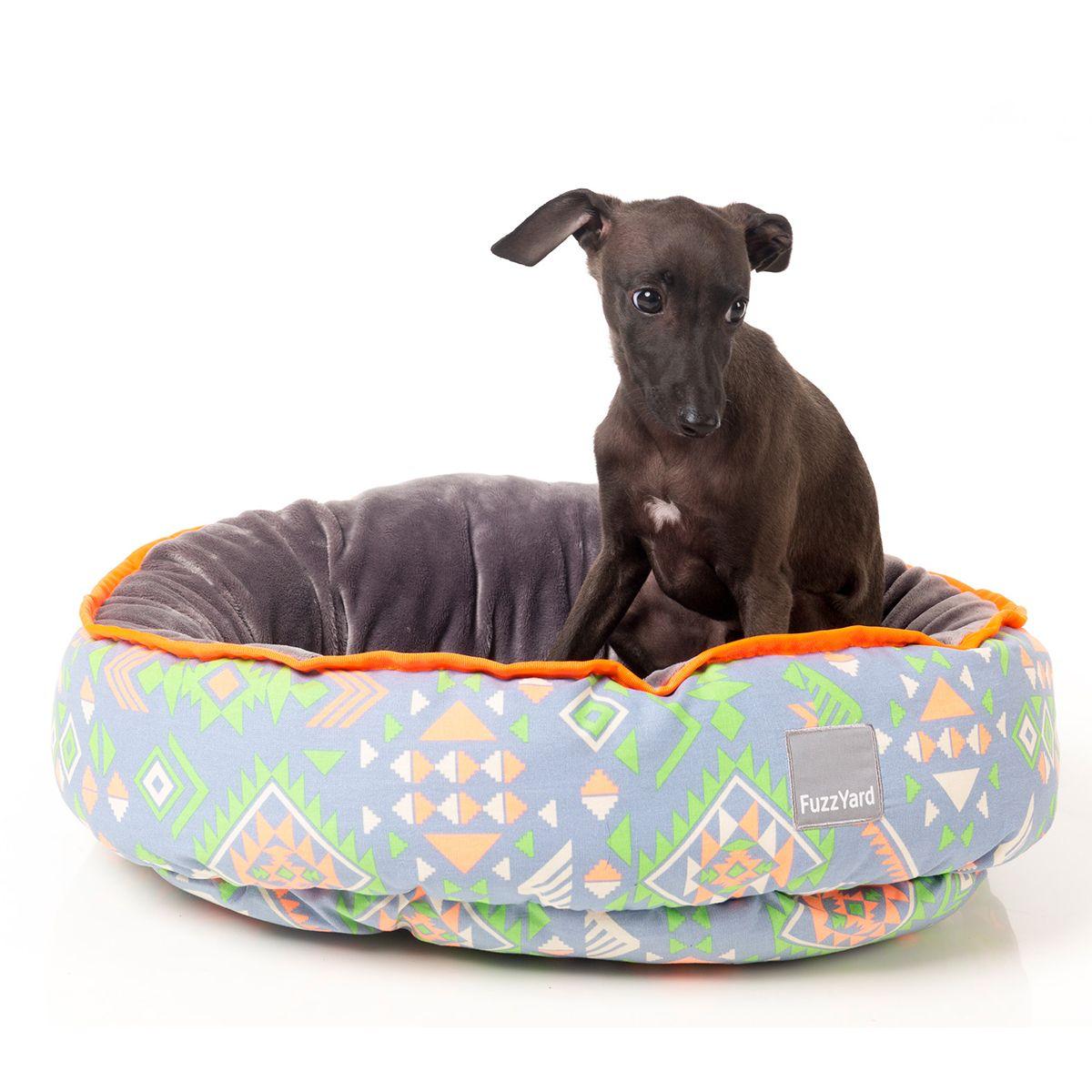 Fuzzyard aztec flash reversible pet bed pet bed dog pet