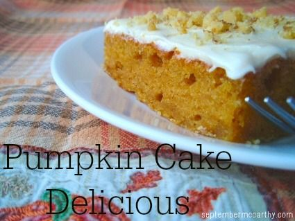 Pumpkin Cake Delicious