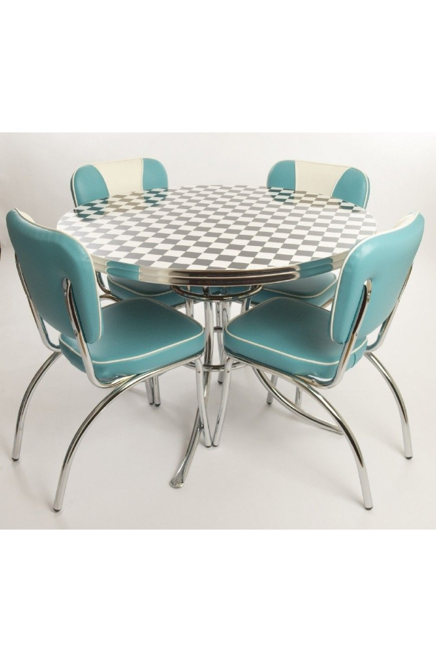 West Side Round Table Chairs Retro Dining Table Dining Chairs