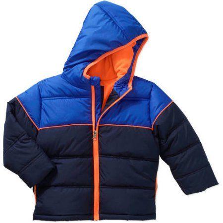 b78d425d2 Healthtex Baby Toddler Boy Bubble Puffer Jacket