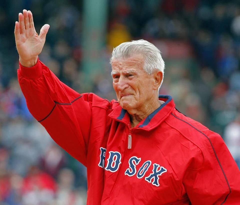 It was always great to see Johnny Pesky around the ballpark. RIP