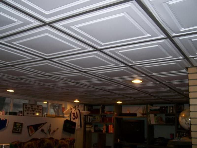 New Basement Drop Ceiling