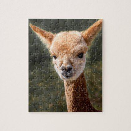 baby alpaca puzzle christmas idea gift idea diy unique special merry xmas family holidays