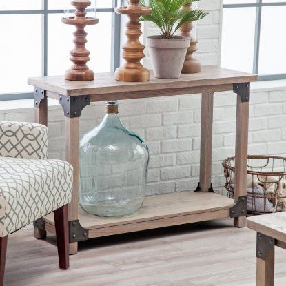 Review Belham Living Jamestown Rustic Console Table Model - Popular Driftwood sofa Table Photos