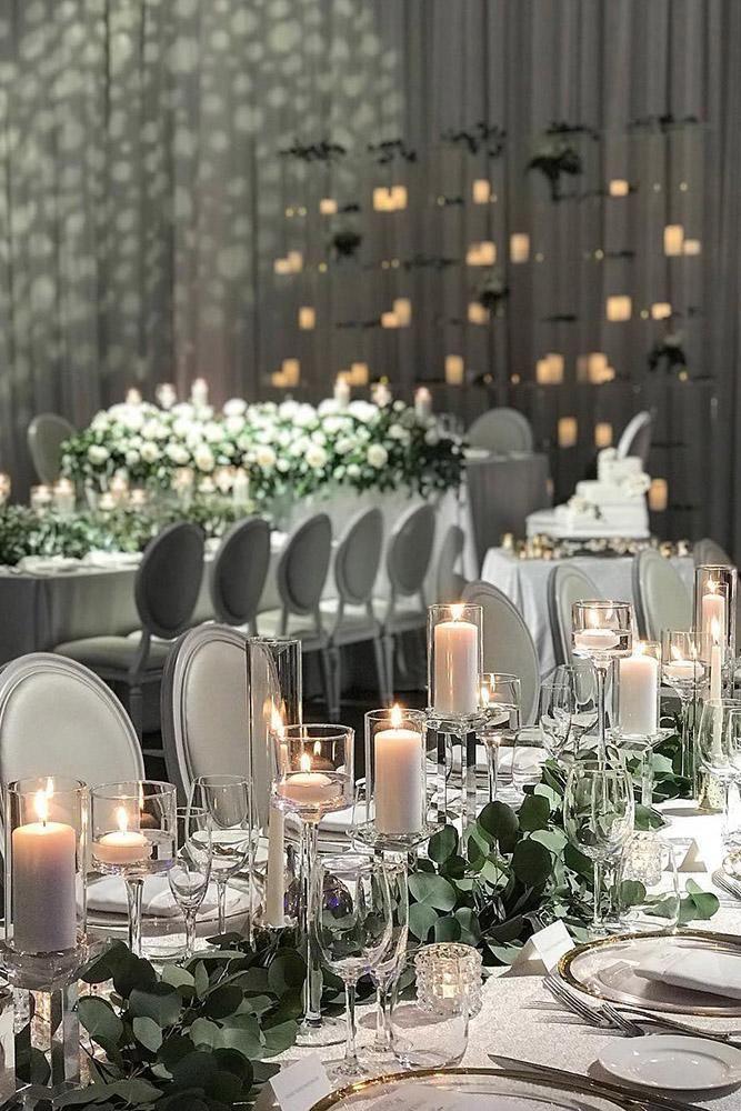 30 Modern Wedding Decor Ideas | Modern wedding reception ...