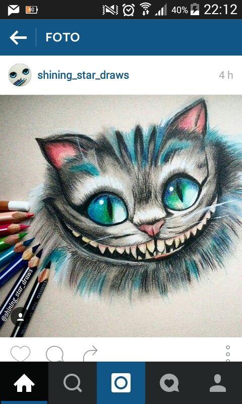 Pin Von Kkinfinity Otting Auf Art In 2020 Cheshire Cat Zeichnung