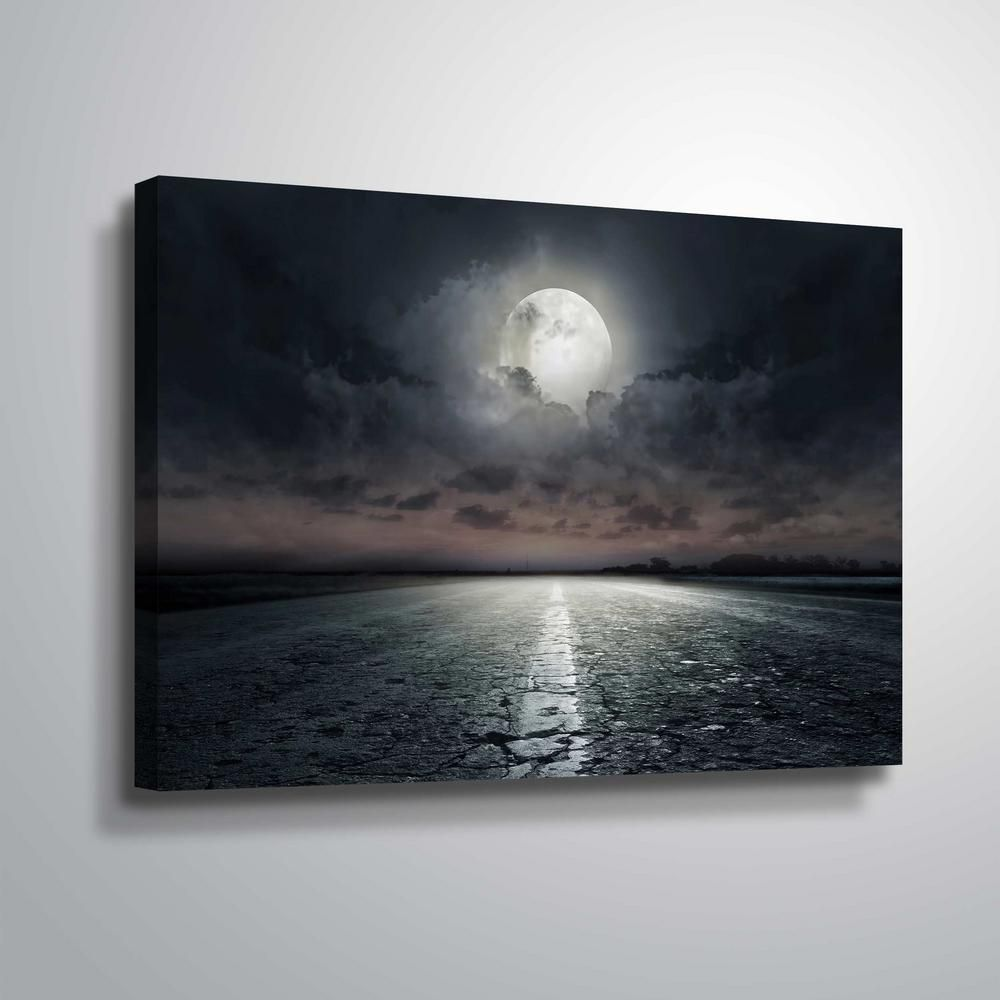 Pin By Linda Giese On Painting Drawings In 2021 Moon Wall Art Landscape Wall Decor Wall Art
