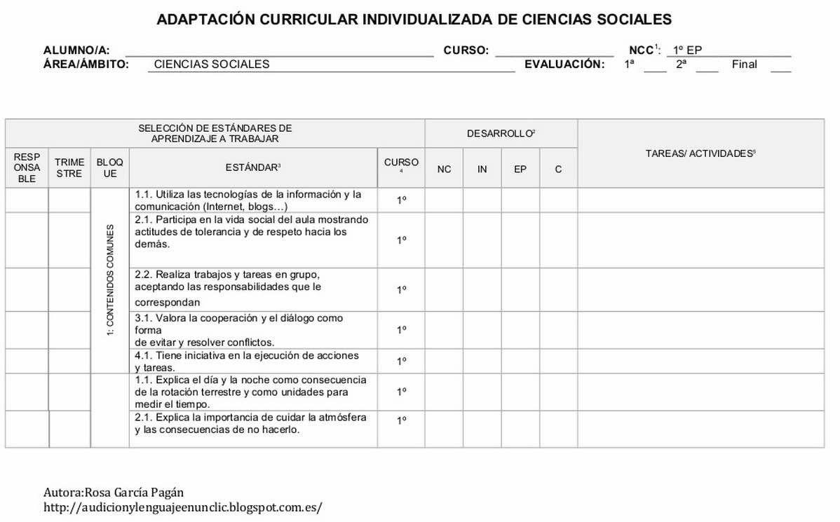 ACI BASE DE CIENCIAS SOCIALES DE 1º A 4º DE PRIMARIA LOMCE MURCIA ...