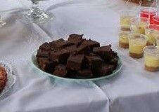 Brownies de batata-doce e chocolate