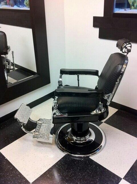 $$$$AVAIL CHAIRS$$$$$ :-) Antique barber - AVAIL CHAIRS$$$$$ :-) Antique Barber Chair Restoration Chrome